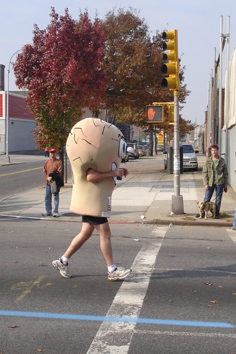 Testicles run NYC Marathon | by wireful
