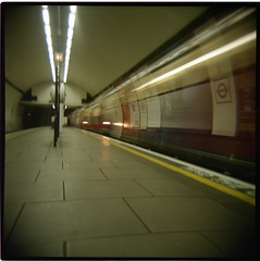 Clapham Common Tube Holga | by Paul:Smith