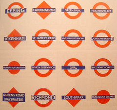 Variety of London Underground Logos and Roundels | by Annie Mole