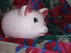Pink Piggy | by alycethehippie