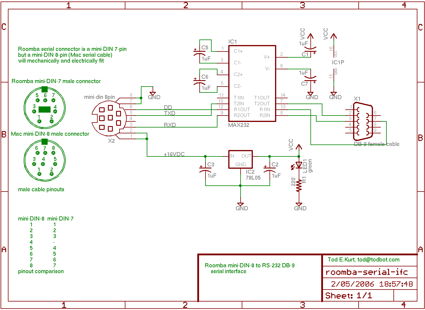 All Sizes Roomba Serial Interface Schematic Flickr Photo Sharing Usb Download The Original Size Of This