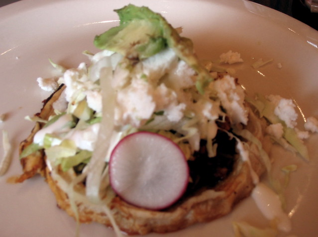 Sopes flickr photo sharing for Autentica mexican cuisine portland or