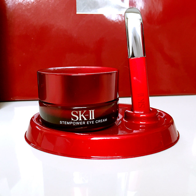 SK-II Stempower Eye Cream and Magnetic Wand