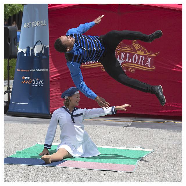 Circus Flora In Citygarden 2015-06-02 7