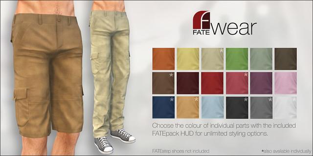 FATEwear - Pants+Shorts - Brian - FATEpack