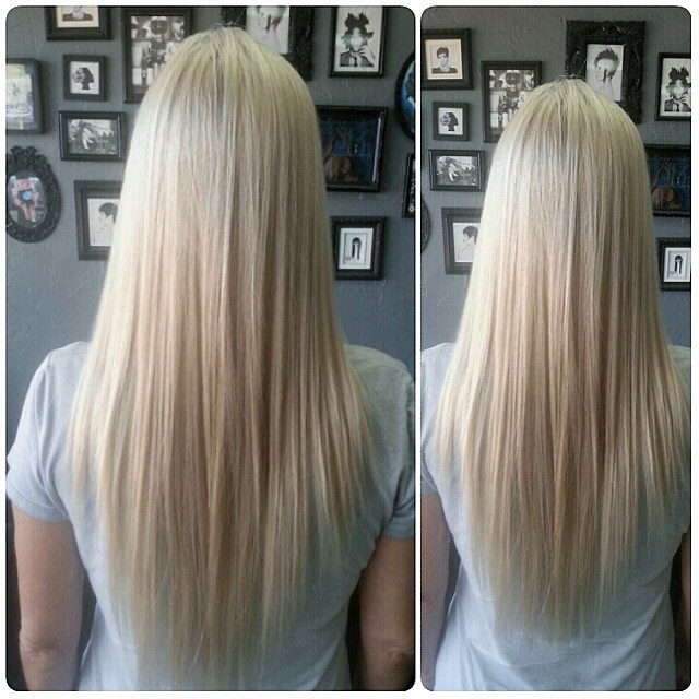 Weave N Slice Platinum Blonde Highlights Weave N Slice Pla Flickr