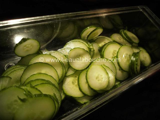Salade de Concombre au Feta Vinaigrette © Ana Luthi Tous droits réservés 02