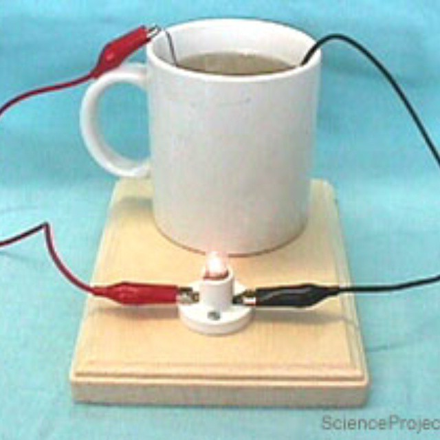 Salt Water Lamp How Does It Work : How to make salt water battery lamp? www.technographics.or? Flickr