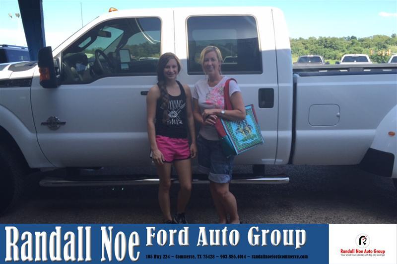 Randall Noe Ford Commerce Area Customer Reviews Texas Car ...