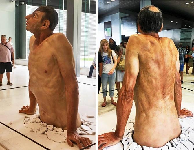 Гиперреализм в современной скульптуре - ПоЗиТиФфЧиК - сайт позитивного настроения!