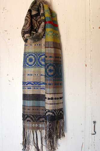 ice & ashes scarf (inaugural scarf) | by Avalanche Looms