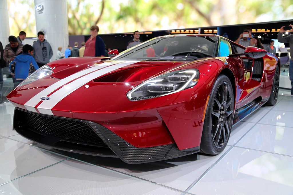 Ford Gt Front Angled By Ken S Three