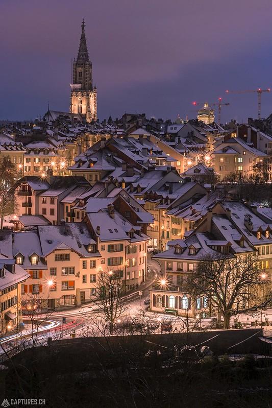 First snow - Bern
