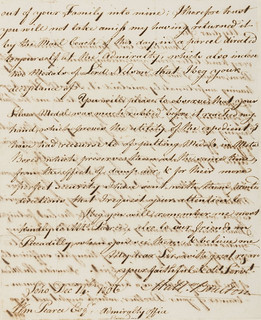 1806 Matthew Boulton Letter to William Pearce