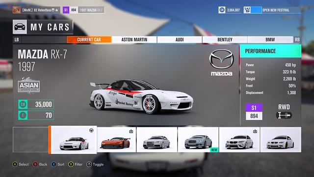 (FH3) Sweeping Forest Sprint! (450BHP) Results up! 32420215922_739b7a7107_z