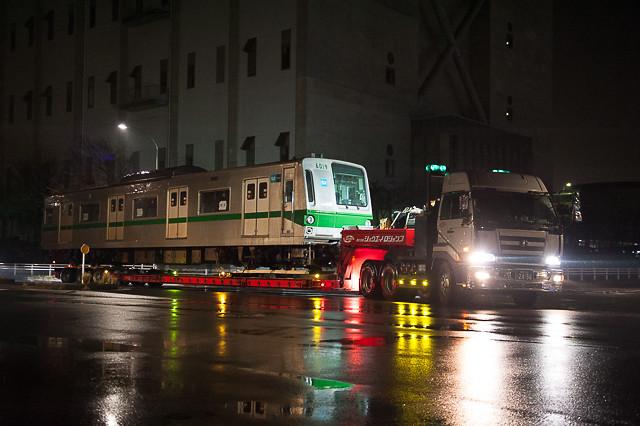 東京メトロ千代田線6000系6119F 6019号車 陸送