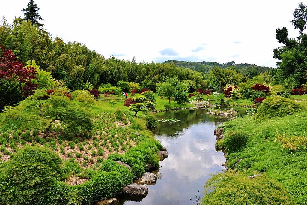 Jardin Japonais La Bambouseraie Anduze De Provence Et D