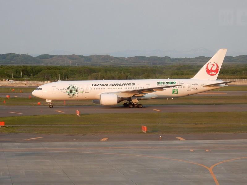 JAL B777-200 JA8984 / CTS