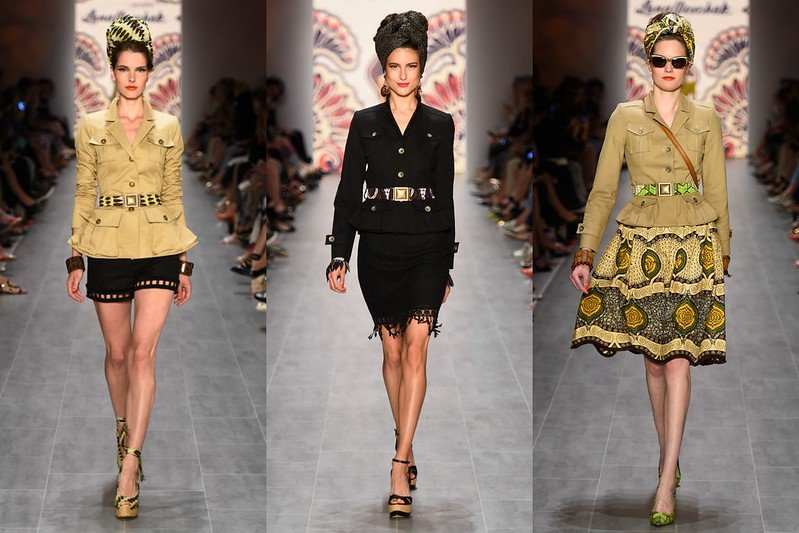 Grand Mama Africa I #African inspired fashion by Lena Hoschek #LenaHoschek #Safari