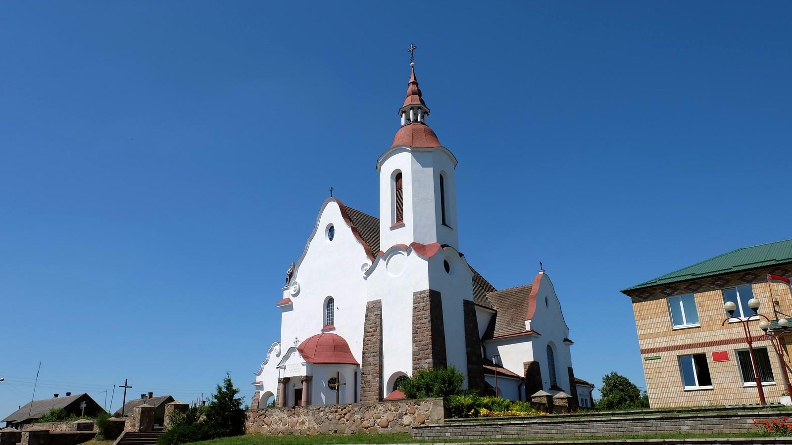 Костёл Богоматери Руженцовой, Солы, Беларусь