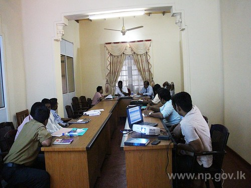 Progress Review Meeting for Road Development Department