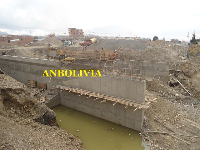 AVANZA LENTA LA CONSTRUCCIÓN DEL PUENTE RÍO SECO DE EL ALTO PARA EL FUNCIONAMIENTO DE LA DOBLE VÍA