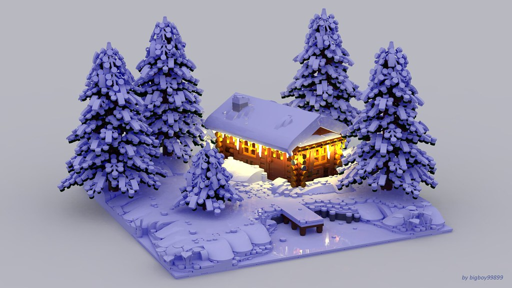 Emotions Winter My Lego Winter Scene With Some New