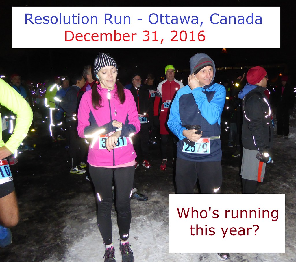 Who Is Running The Resolution Run In Ottawa On December