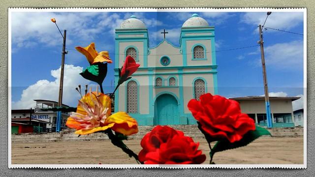 De Urubuquara a Vila de Outeiro, Prainha, 136 anos , Igreja matriz de Prainha. Foto - Wendell Medeiros