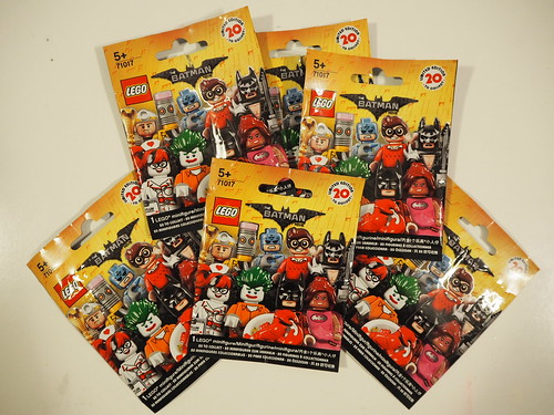 LEGO Batman Movie - minifigure blind bag collection