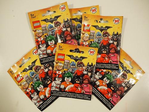 LEGO Batman Movie - minifigure blind bag collection