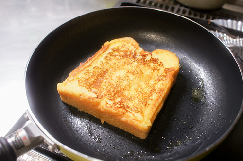 ここなちゃんのフレンチトースト