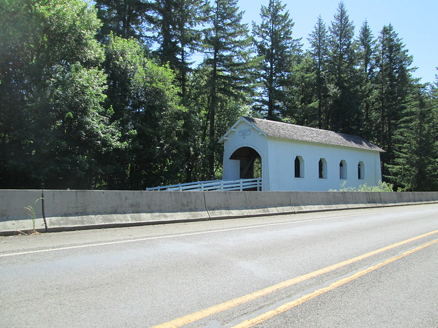 Ritner Covered Bridge on the Kings Valley Hwy