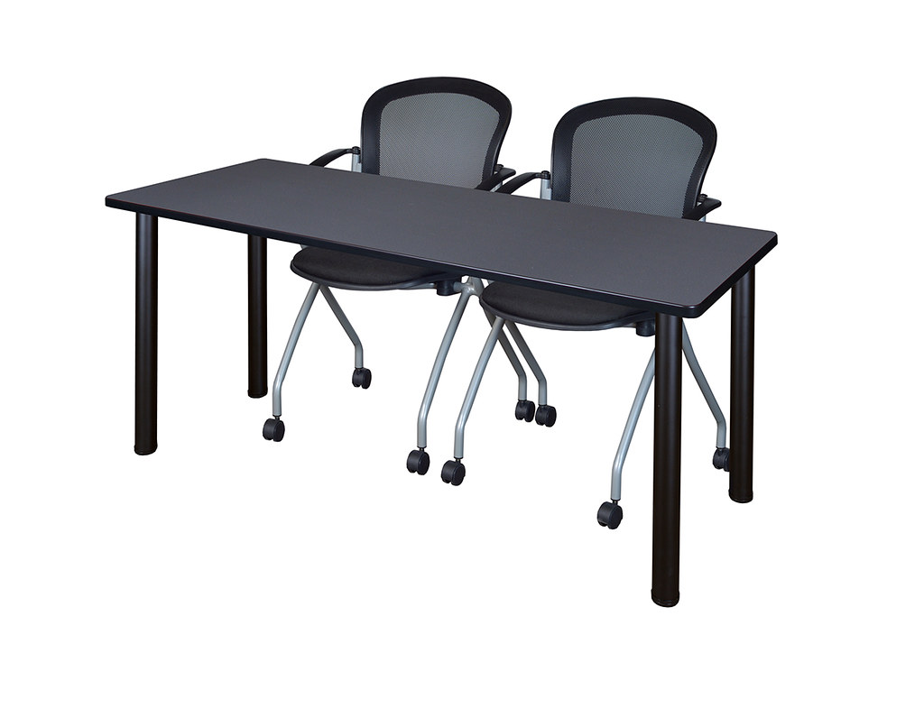 mt6624gybpbk23bk 66 kee training table in grey and