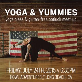 Yoga and Yummies July