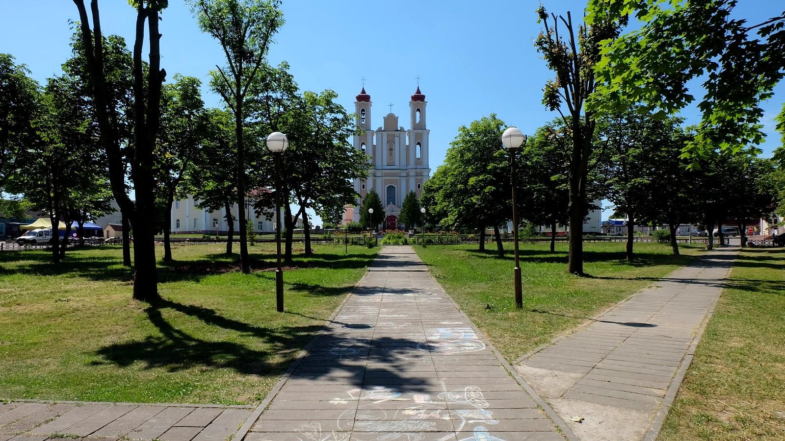 Костёл Святого Юрия, Ворняны, Беларусь