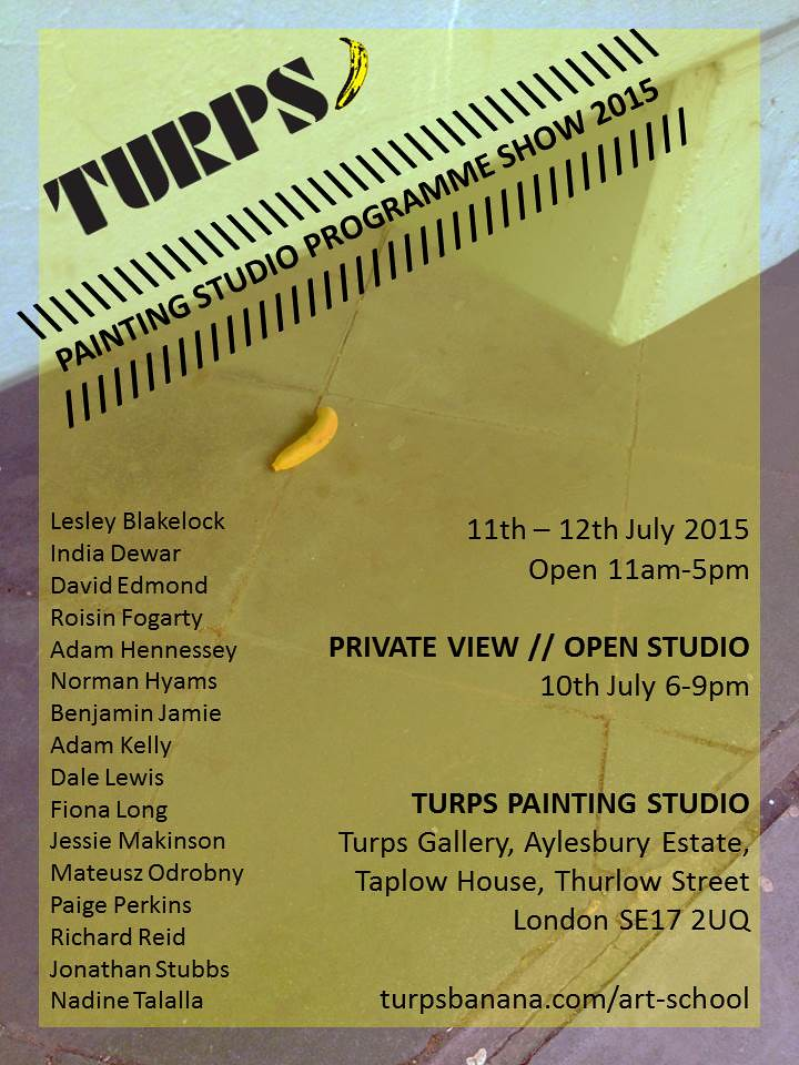 Turps Painting Programme Show 2015