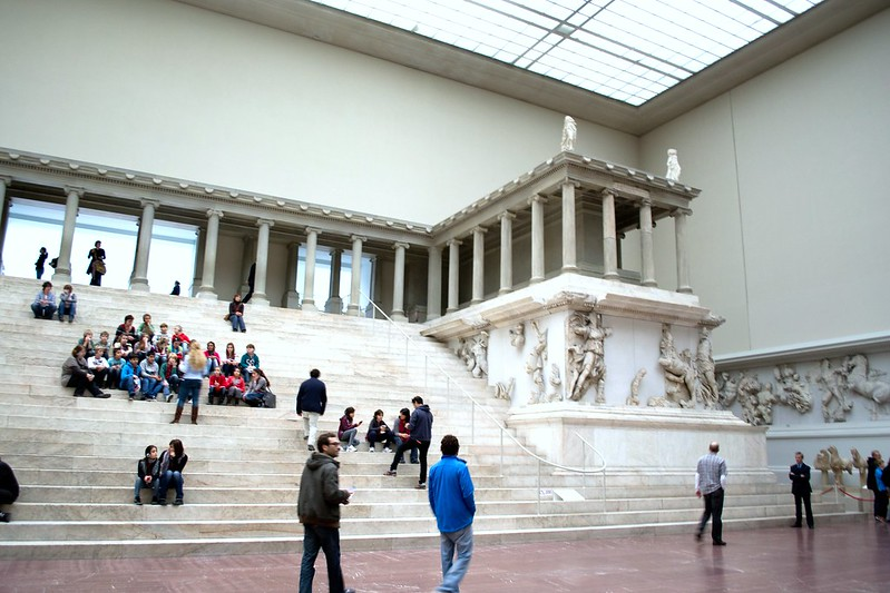 Pergamon Altar circa 2011 - Pergamon Museum - Treasures of Berlin's Museum Island | packmeto.com