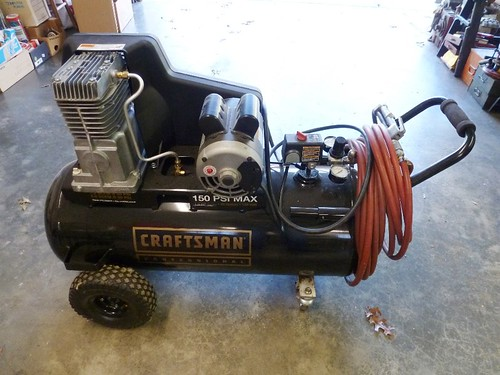 Craftsman 150 PSI Max 25 gal. air compressor | by thornhill3