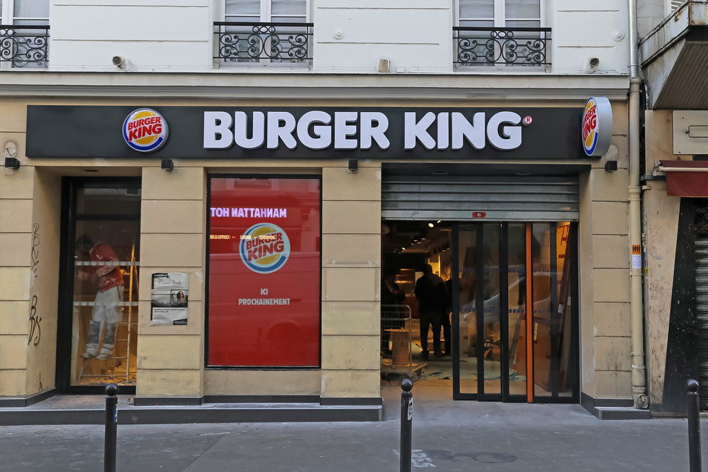 Burger king coupons france