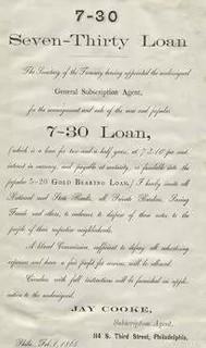 Civil War 7-30 loan flyer
