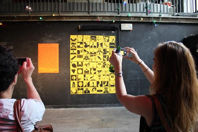 Création typographique avec La Fonderie Velvetyne à La Générale (Paris)