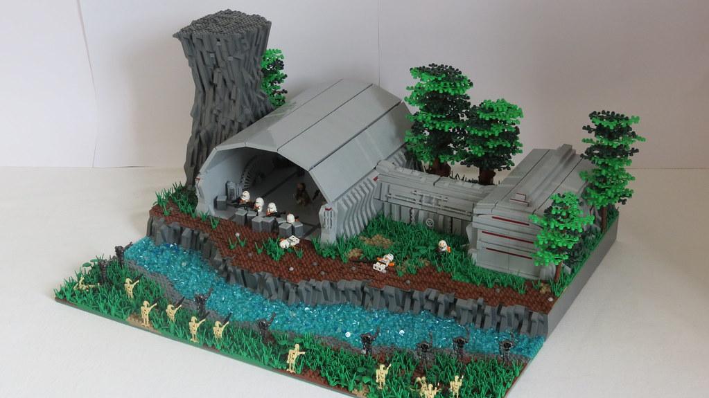 Lego Star Wars Alderaan Lego Star Wars Moc on