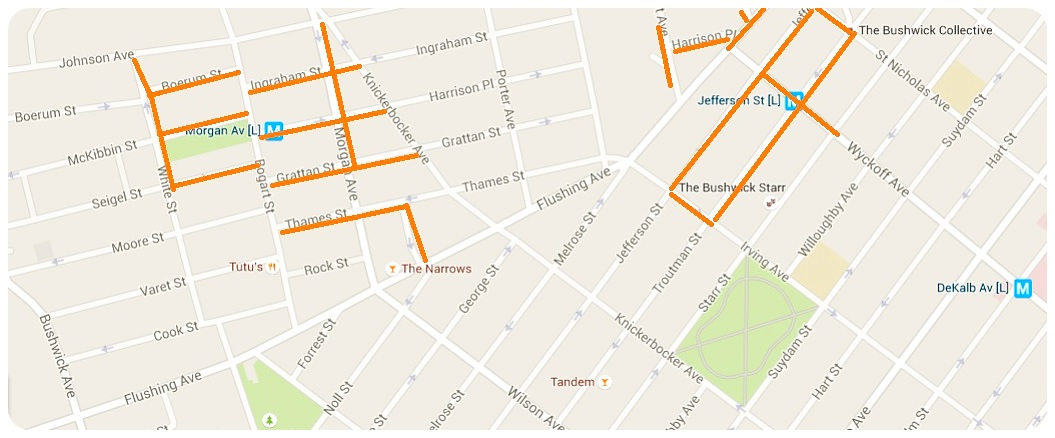 Bushwick Street Art Map