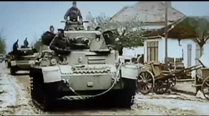 Waffen SS panzer divisions in action World War 2