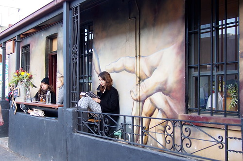 Grace Cafe, Street art or graffiti, Rose Street, Brunswick, Melbourne