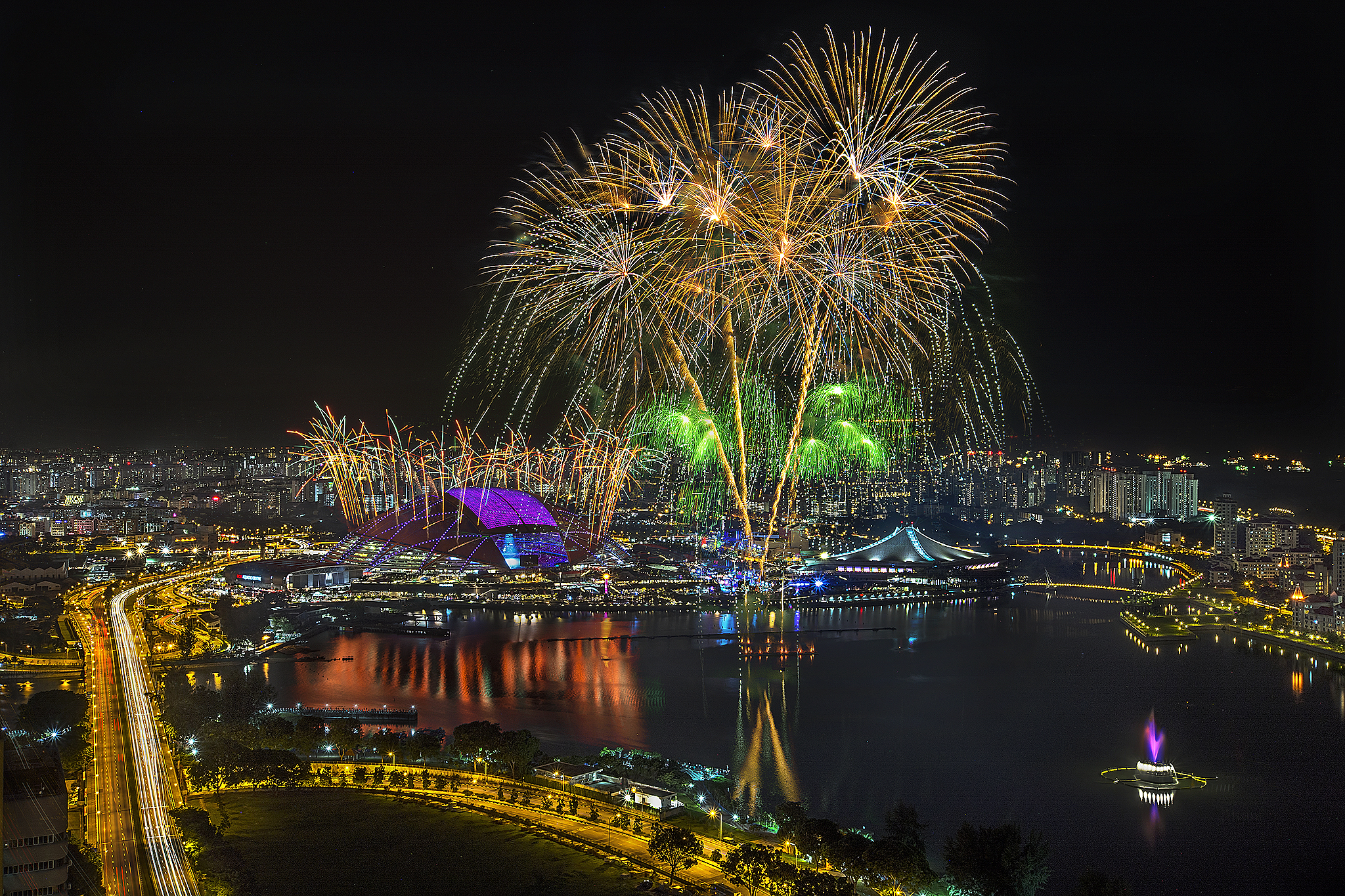 SEA Games Closing Fireworks