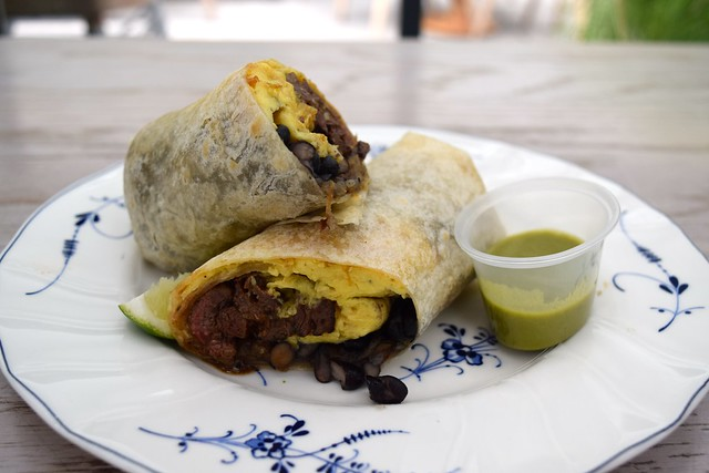 Breakfast Burrito at The Commissary, Koreatown