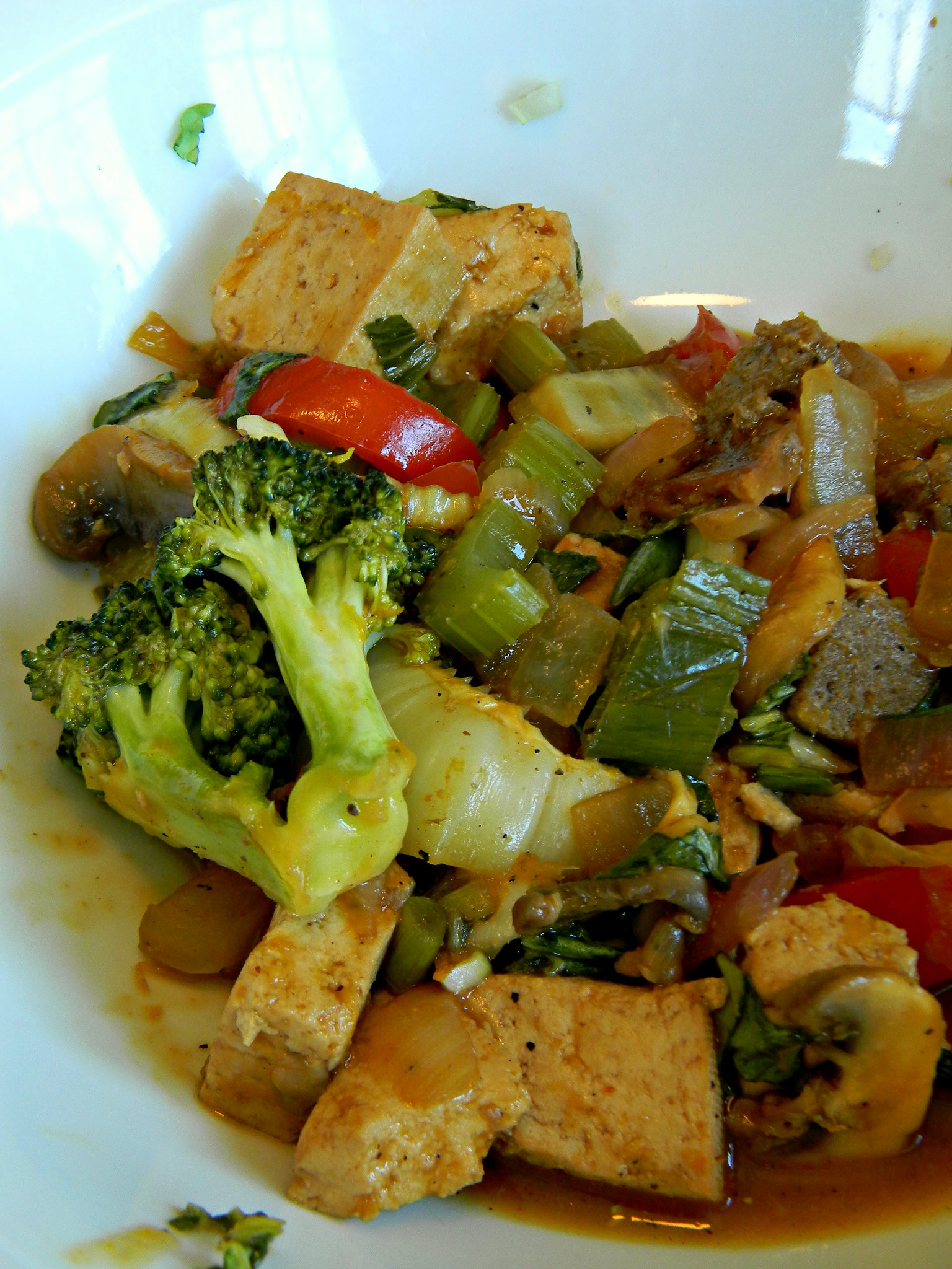 Sesame Orangeyaki Stirfry with Tofu