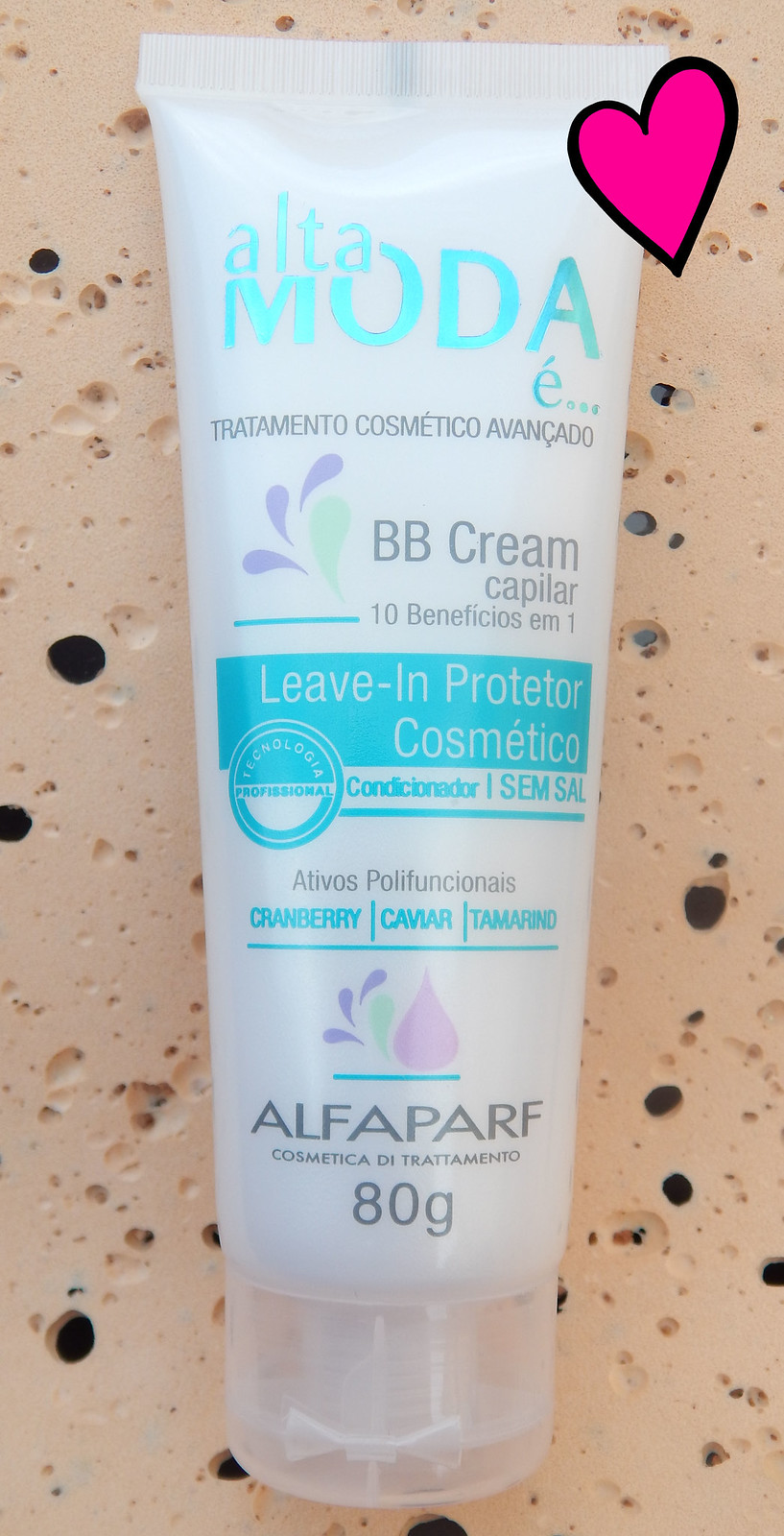 Testei: Leave-in Protetor BB Cream da Alta moda